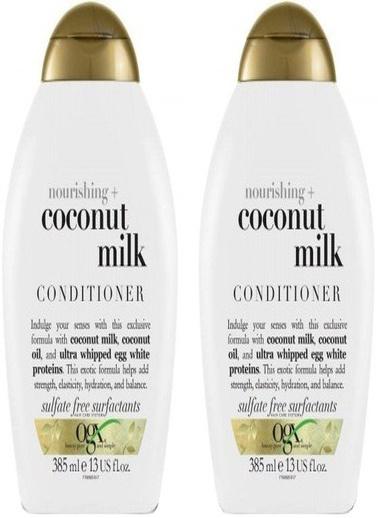 Organix Ogx Besleyici Coconut Milk Bakım Kremi 385 Ml X 2 Adet Renksiz